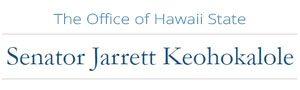 The Office of Hawaii State Senator Jarrett Keohokalole